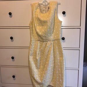 NWT yellow dress